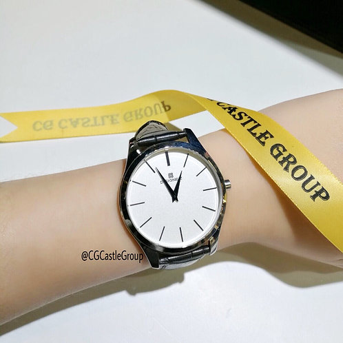 CG Couple Minimalist Watch White Dial/Silver Case