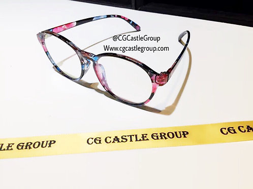 CG Adult Korean Nerd Spec Floral Print