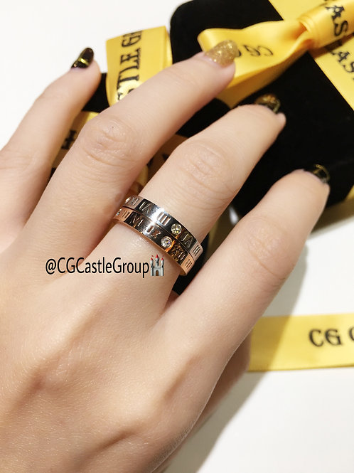 CG Roman Couple Ring