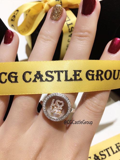 CASTLE Magic L.O.V.E Spinning Ring