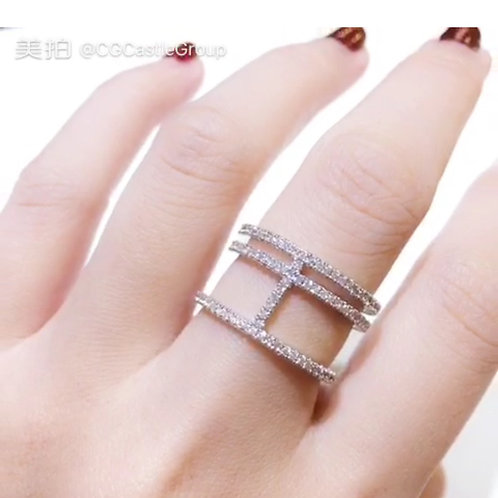 CG Wang Ring Full Crystal