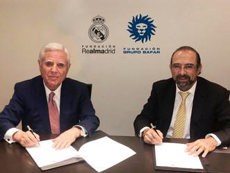 Fundación Grupo Bafar y Fundación del Real Madrid renuevan su compromiso de trabajo por mejores mexi