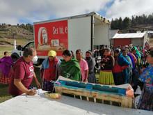 Entregan Fundación Grupo Bafar, FECHAC y la SEDENA apoyos alimentarios a más de mil 700 familias en