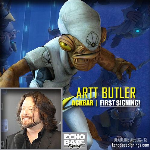 ARTT BUTLER Autograph Pre-Order - Star Wars 8x10s Signed