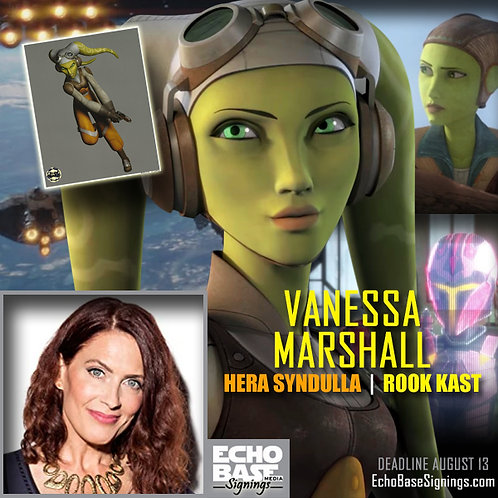 VANESSA MARSHALL Autograph Pre-Order - Star Wars 8x10s Signed