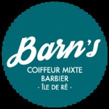 Macaron autocollant Barn's