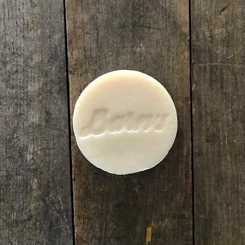 La recharge du savon à raser