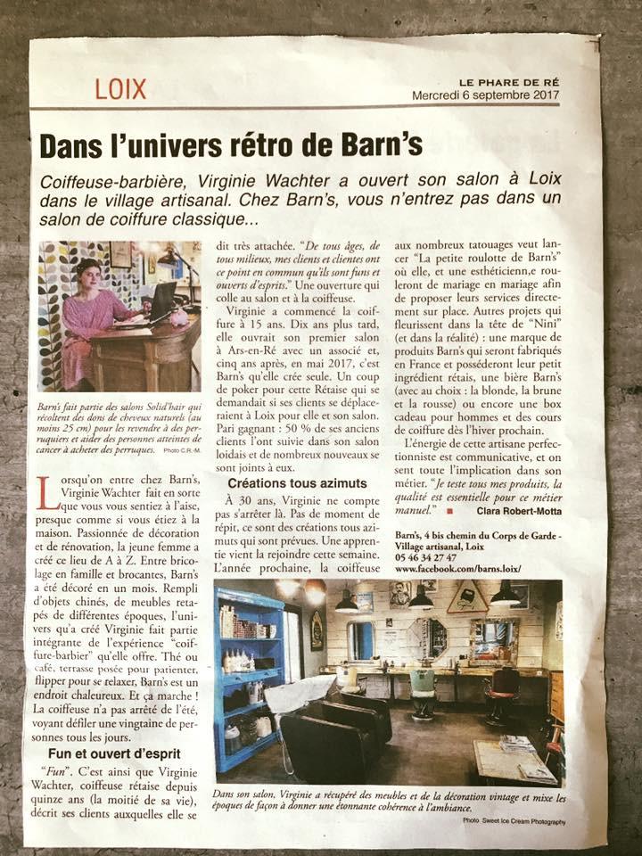 Dans l'univers de Barn's!