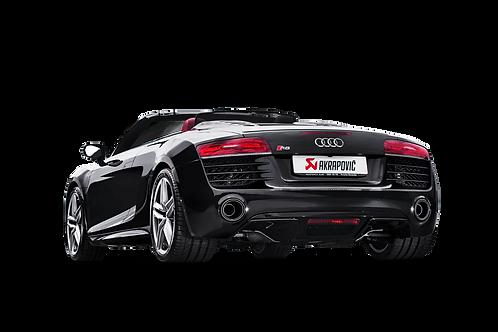 Slip On Line (Titanium) for Audi R8 5.2 FSI Coupé/Spyder 2015