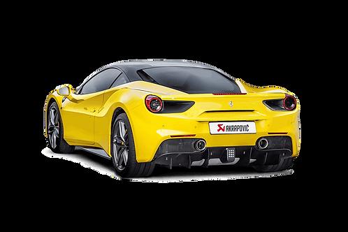 Slip On Line (Titanium) for Ferrari 488 GTB/488 Spider