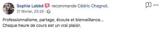 sophie_labbé_avis_recommande_cédric_chag