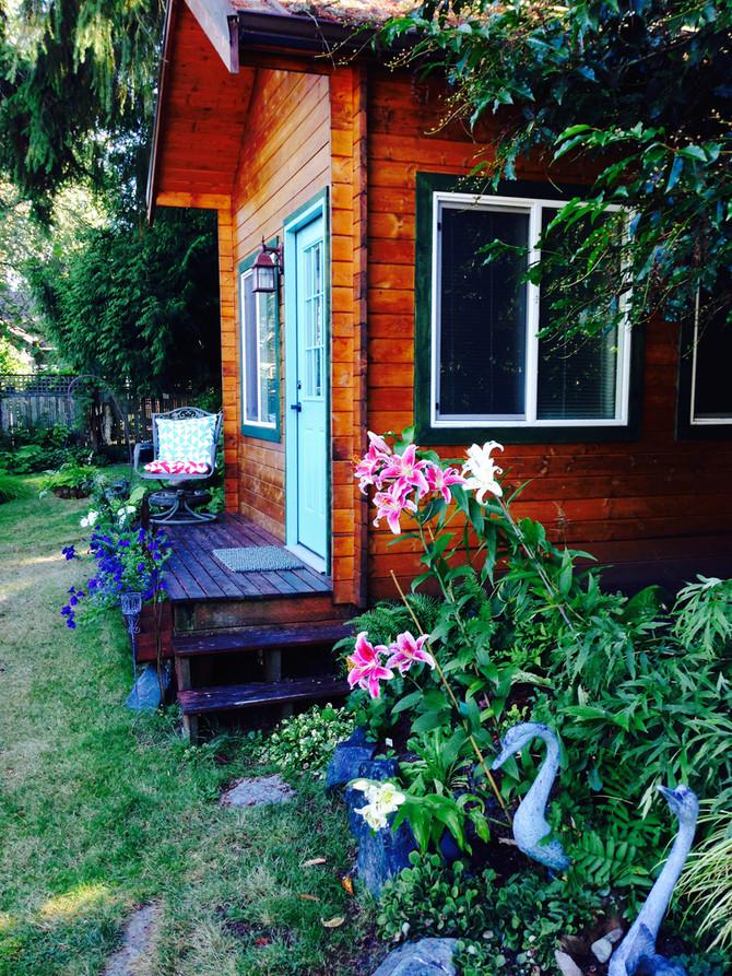 Joys of a backyard studio