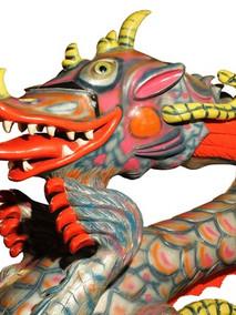 Manège de dragon Le monstre du Loch Ness