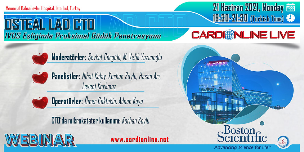 Cardionline Live Case Transmission from İstanbul
