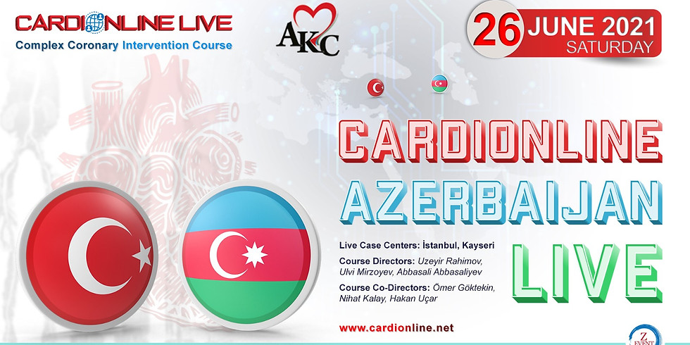 Cardionline Azerbaycan Live Course