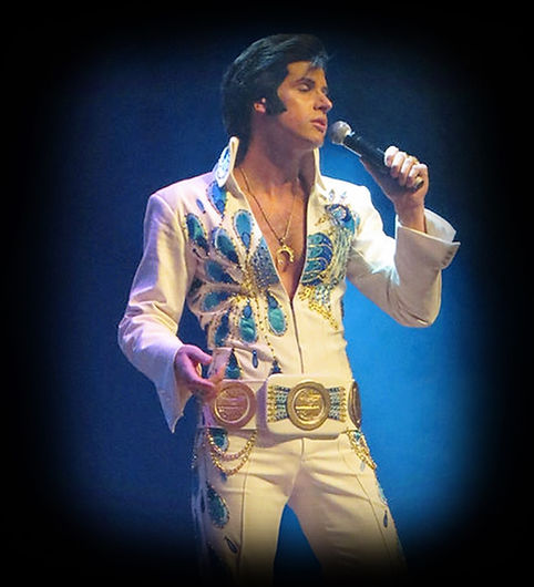 The best Elvis impersonator in Chicago, Illinois, Michael St. Angel