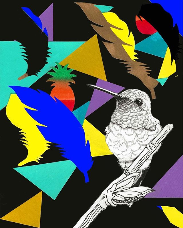 #mixedmediaart #collage #montanagold #hu