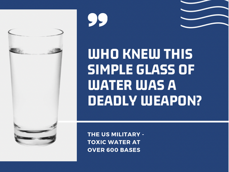 Is The Water Killing Me?