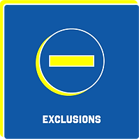 Click to view Exclusions Policy