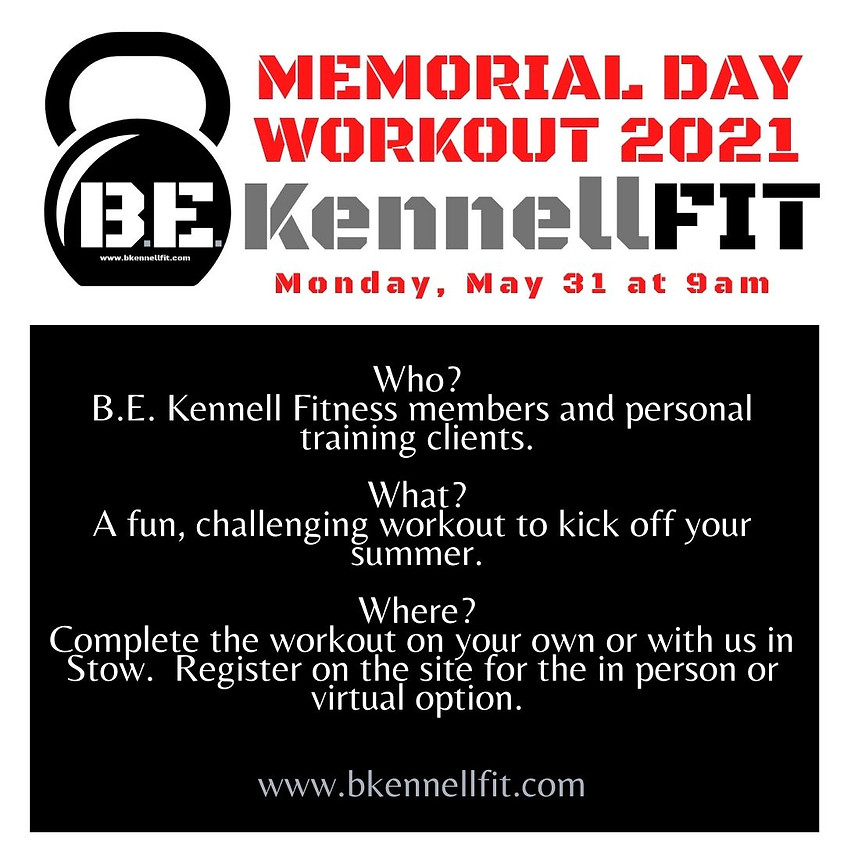 Memorial Day Workout 2021