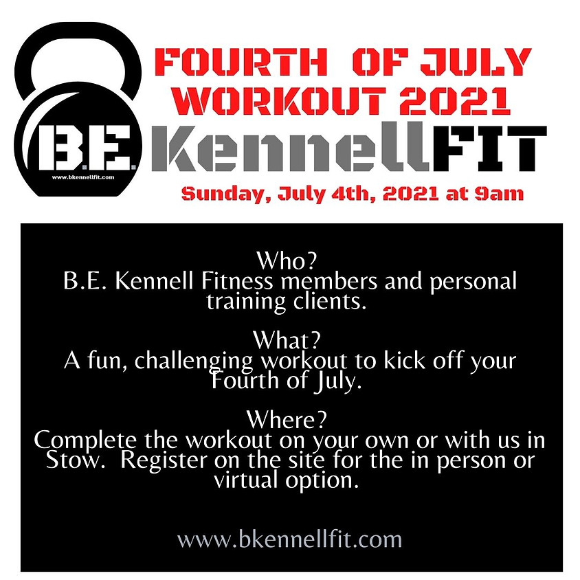 Fourth of July Members Workout