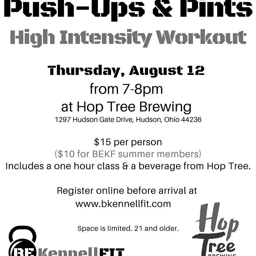 Push-ups & Pints at Hop Tree Brewing