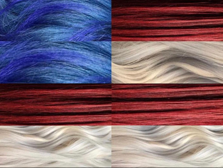 HOW TO TAKE CARE OF YOUR RED, WHITE, AND BLUE HAIR!