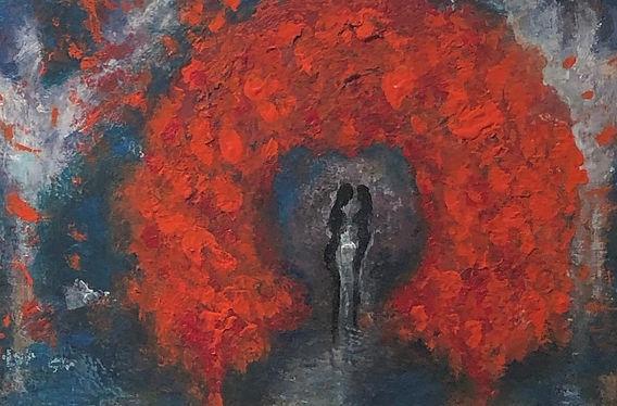 Gouach / Akryl / Canvas / 40 x 40 cm