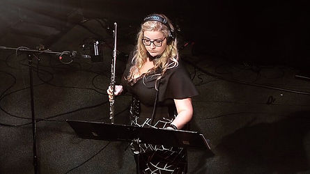 Aleyna Brown flute electronics performance