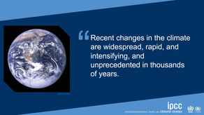 Global warming – human impact indisputable