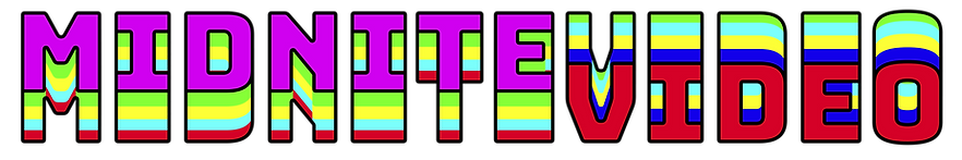 Midnite Video - vertical color bars logo