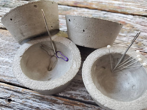 Concrete Notions Bowl With Hidden Magnet