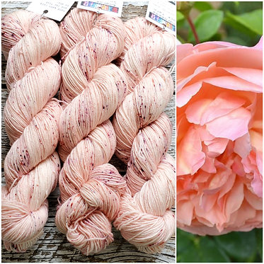 ***Dyed to Order*** Peachy Peony