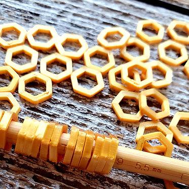 Gold Stitch Markers