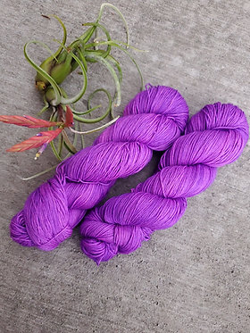 *** Dyed to Order*** Electric Eggplant