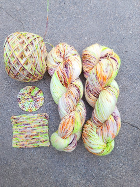 ***Dyed to Order*** Double Double -Toil and Trouble