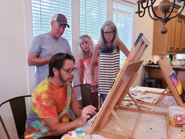 Couples Painting Workshop in Seagrove Beach 30A