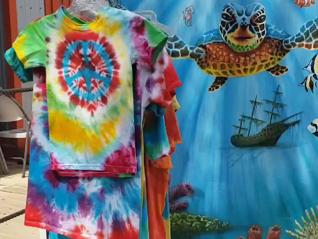 Tie Dye at Artists at Gulf Place Gallery