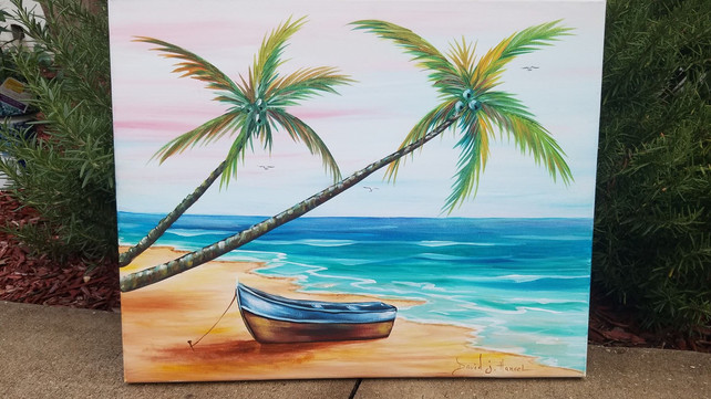 Acrylic Painting Workshop in Santa Rosa Beach at Gulf Place