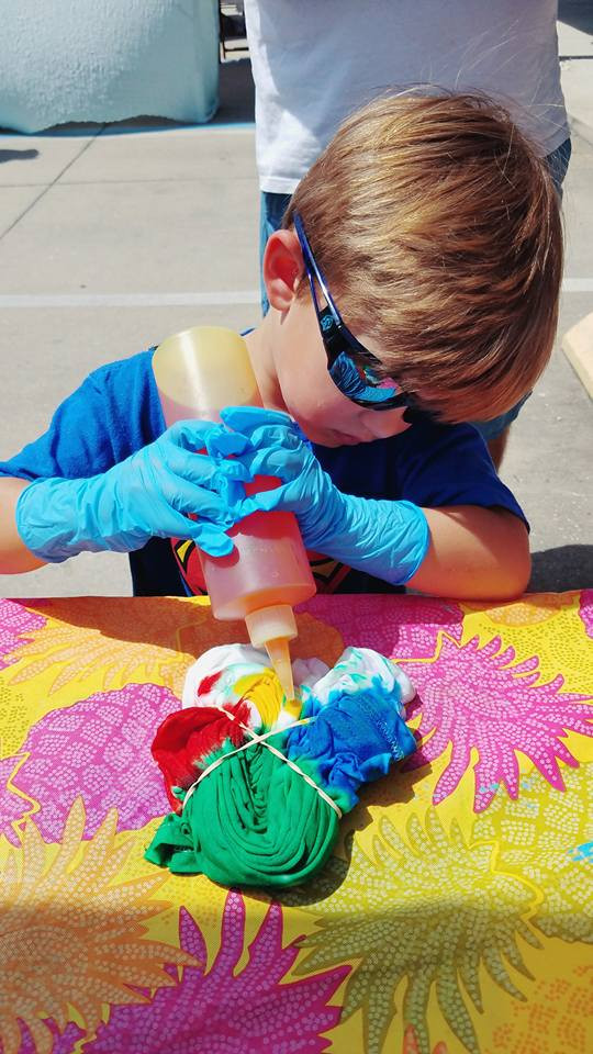 Tie Dye Workshops for June and July