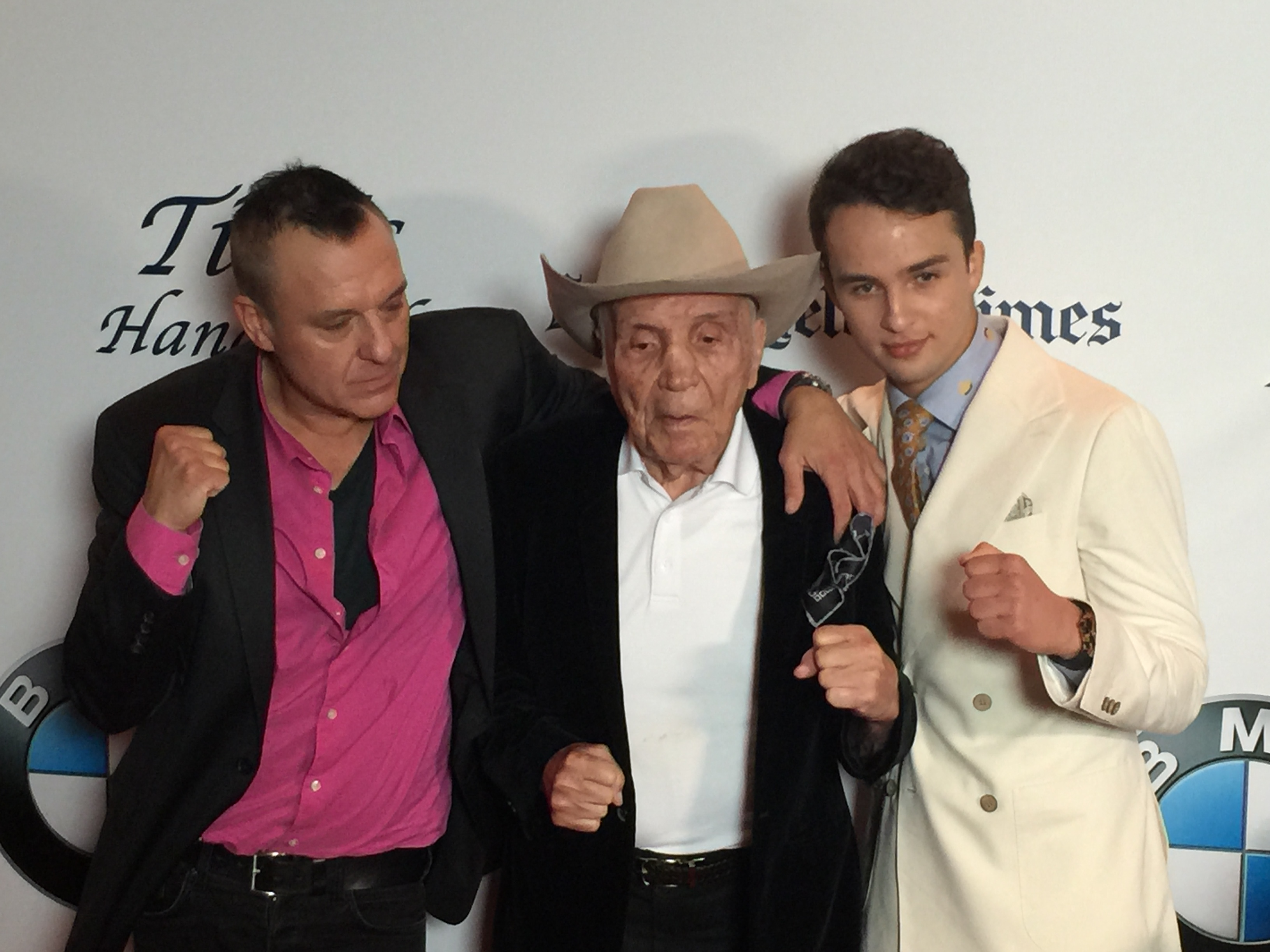 Tom Siezmore, Jake LaMotta & Mojean Aria 'LaMotta The Bronx Bull'