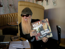Billy Gibbons signs book 2