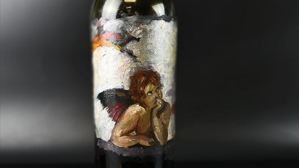 Cherub Angels on 750ml bottle