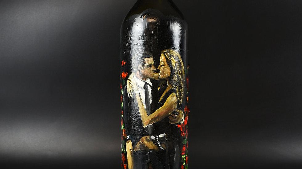 Angelina Jolie x Brad Pitt on 750ml bottle