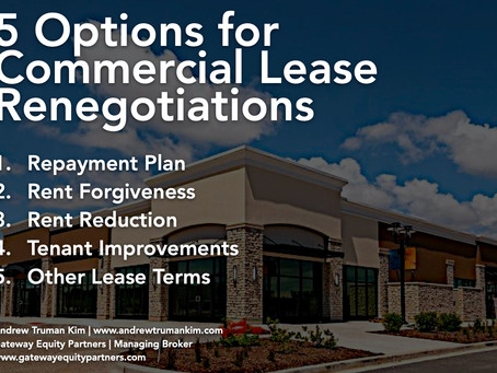 Small Business Insights: 5 Options for Business Lease Renegotiations