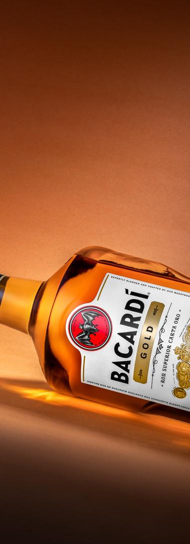 Bacardi Gold Rum - Ver1
