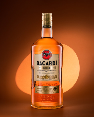 Bacardi Gold Rum - Ver2