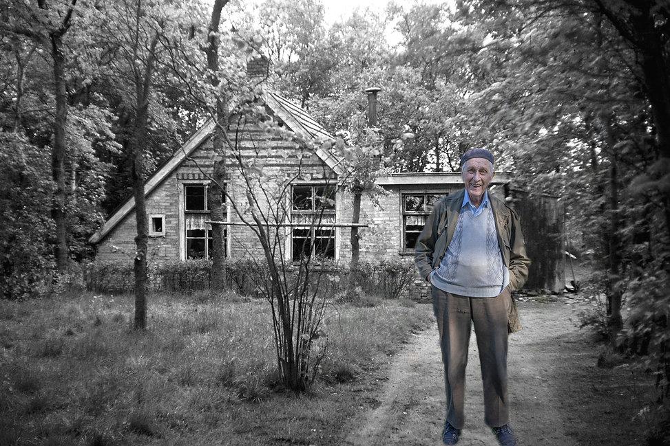 Klaas Kroonenburg huisje bij de Doeze196