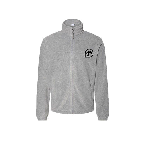 Light Grey Fleece- Logo only - Large