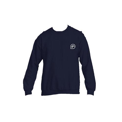 Navy Jumper- Logo only - Small